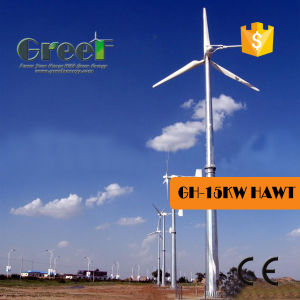 15квт горизонтальной оси ветровой турбины в пригороде