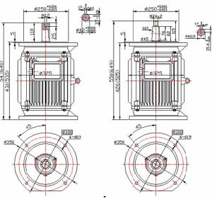 9kw 500rpm Green Energy Vertical Permanent Magnet Wind Generator