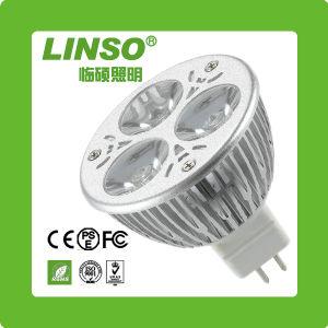 RoHS MR16 1x3w LED Punkt-Lampe