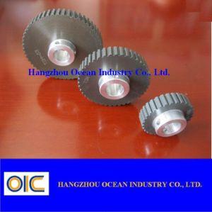 Polea de distribución de aluminio oxidado duro
