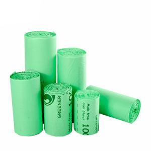 Ok Compost Industrial/Compostable Inicio bolsa de basura basura de plástico en el hogar