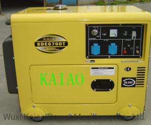 5KW insonorisé Groupe électrogène Diesel silencieux KDE6500T à partir de l'alimentation KAIAO