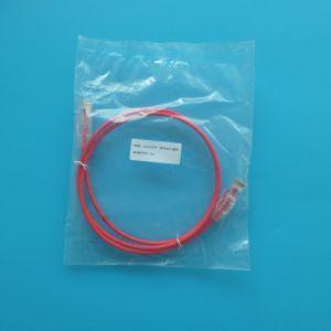 UTP CAT6 RJ45 28 AWG Rojo Slim latiguillo de cable de conexión