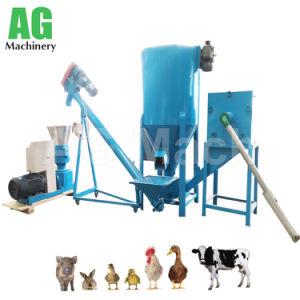 La máquina de alimentos de aves de corral profesionales Piensos peletizadora de pollo, cerdo, cordero, pato, cabezas de ganado