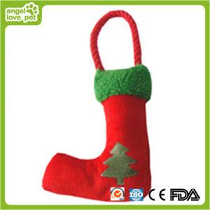 Weihnachtssocken-Baum-Drucken-Haustier-Spielzeug