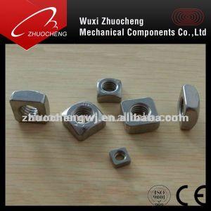 DIN en acier au carbone en acier inoxydable557 l'écrou carré