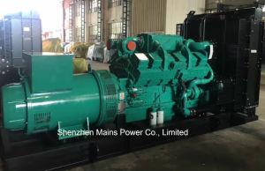 produzione di energia diesel standby del generatore di Cummins di potere Rated 1100kVA