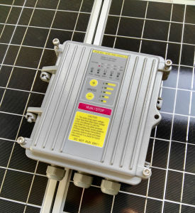sistema di pompaggio solare sommergibile di CC dell'acciaio inossidabile di 5in