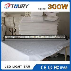 Barra de LED luminoso Solar Luz de Trabalho para carro estrada 300W 52polegadas