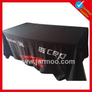 6FT 8FT 관례 폴리에스테 테이블 피복 기치