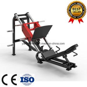 Lineales de carga de la placa de prensa de la pierna Hammer Strength equipos de gimnasia