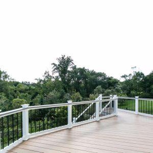 Super уплотнение для использования вне помещений Co-Extruded ПВХ пол/открытую террасу на балкон