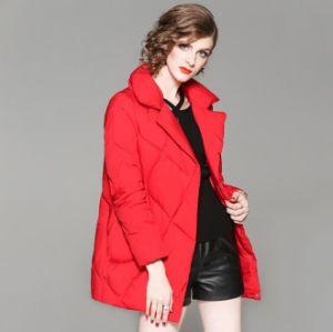 Personalizar o inverno quente casaco para baixo para as mulheres