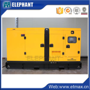 80kw 100kVAの無声ディーゼル電気発電機