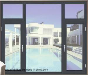 양극 처리한과 분말 입히는 알루미늄 여닫이 창 Windows