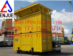 Contenitore di alimento mobile messo in recipienti del grano dell'unità dell'insacchettatrice di ponderazione di FIBC