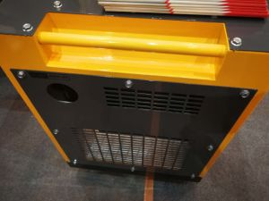 6kw 7kwの無声防音の空気涼しい携帯用ディーゼル発電機