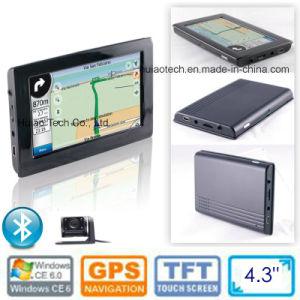 OEM 4.3 voiture Camion Véhicule GPS portable de navigation GPS Navigator PDA avec système de navigation GPS Bluetooth carte, carte Navitel avec une vitesse de la caméra, un parking arrière