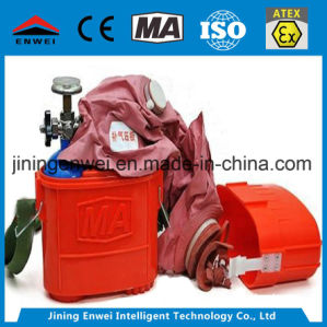 45-miniem de Inhoud van de Zuurstof Self-Rescuer Met samengeperste lucht van 80 L voor Korte Rijweg