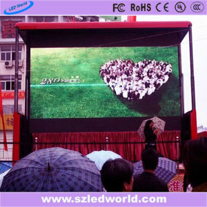 P10 Outdoor Full Color Moving Truck LED Video Wall