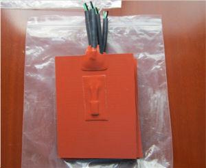 Calefator flexível da borracha de silicone do UL