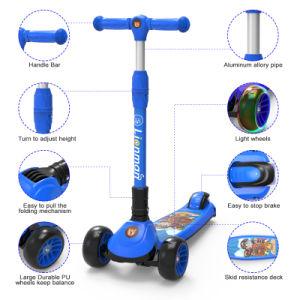 Novo Design 2018 crianças Kids Kick Mini Scooter (XLM de recolhimento de pé-L-006S)