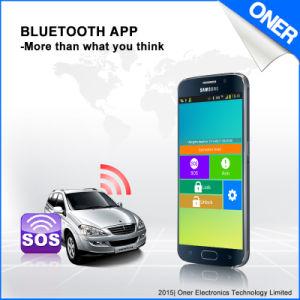 Armar/Desarmar definição e controlo pela Auto Dispositivo de Rastreamento por GPS e Receptor Bluetooth