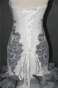 黒い人魚のイブニング・ドレスのウェディングドレスF5086