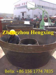 Minério de ouro molhado de moagem moinho Horizontal para separação de minerais