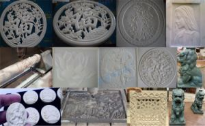 Router CNC máquinas de tallado de grabado de piedra
