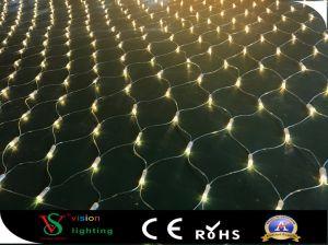 Het LEIDENE van de Kabel van pvc Licht van het Netwerk voor de Decoratie van Kerstmis