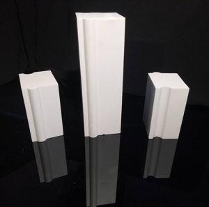 Usure élevée doublure Resisitance céramiques industrielles de l'alumine brique pour l'usine de broyage