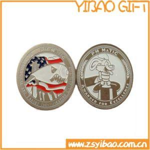 Moneta su ordinazione di sfida dell'argento dell'oro 3D per i regali del ricordo (YB-LY-C-01)