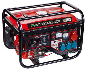 Tres fase 2.0kw Generador Gasolina Air-Cooled 5.5HP
