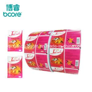 Edulcorante de embalaje papel papel laminado de PE para el azúcar Stick palillo de dientes del papel de embalaje