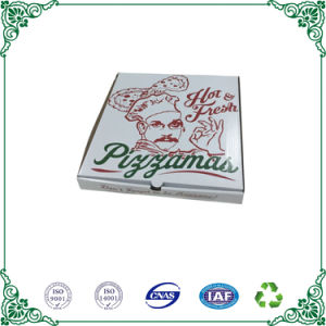 Papel corrugado blanco Pizza de Calidad Alimentaria Embalaje