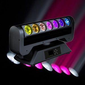 7*12W LED Display LED Moving Bar Light