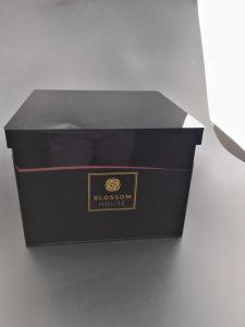 Container van de Vertoning van de Bloem van de Decoratie van het huwelijk de Duidelijke Acryl met Deksel