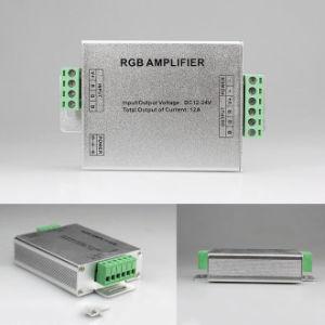 3 canais de alumínio 5V DC/12/24V amplificador de sinal RGB/Controlador de LED
