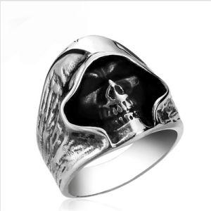 Ring van de Schedel van de Maaimachine van de Stijl van de Kerel van mensen de Taaie Punk Retro Onverbiddelijke