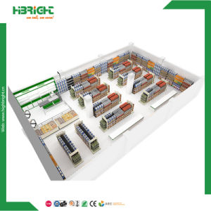 自由なデザイン棚の表示店の付属品の記憶装置の据え付け品のスーパーマーケット装置