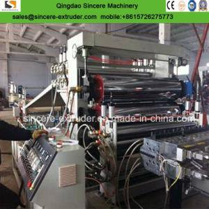 1 Estrato 3 capas de PE PP máquina de extrusión de hojas de papelería