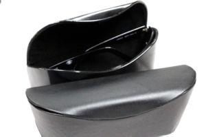 Cassa di vetro della casella di Eyewear di modo del metallo di qualità per gli occhiali di protezione di sicurezza contro i vetri Presbyopic di radiazione (HX416)