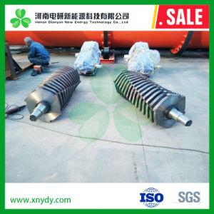 Strumentazione elaborante di decomposizione della gomma di automobile, trinciatrice del pneumatico