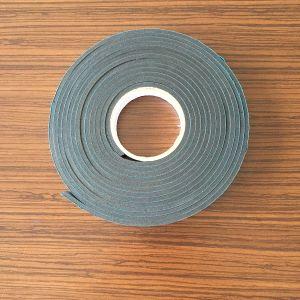 Cinta de espuma de PVC gris