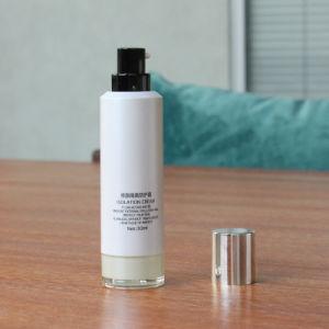36ml Recipiente vazio de cosméticos com dispensador para Sun Loção de bloco