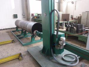 2,5M máquina de polir para tubo metálico de polimento de diâmetro interior