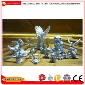 Estanho Aves aduaneira da liga de zinco Figurine Dons Series estátua do Artesanato
