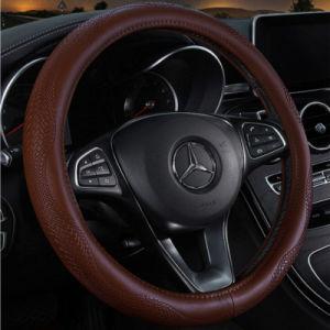 Acessórios para automóvel novo design do carro em couro TAMPA VOLANTE DE DIRECÇÃO