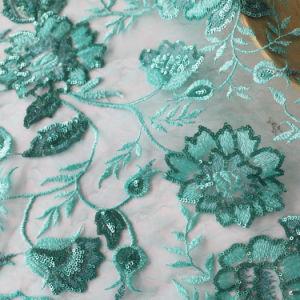 Lindo design grossista Bordados Lantejoulas Lace vestido de malha